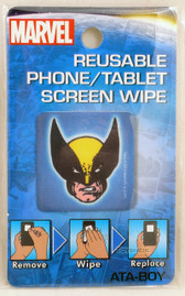 Marvel  Reusable Phone Tablet Screen Wipe Wolverine Head by Ata-Boy 300120