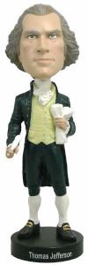 Royal Bobbles Founding Fathers Thomas Jefferson bobblehead figure 010061