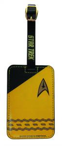 Star Trek Luggage Tag - Yellow 024096
