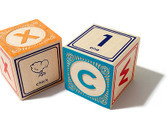 Uncle Goose Classic Lowercase ABC Wooden Blocks 801359