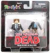 Walking Dead Minimates s6 Rick Grimes & Douglas Monroe Diamond 812891