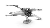 Metal Earth Star Wars X-Wing fighter 3D Metal  Model + Tweezer  012576