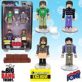 Big Bang Theory Minimates 4-Pack EE Exclusive set #1 015410