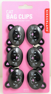 Cat Bag Clips by Kikkerland 068636