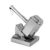 Metal Earth Avengers Thor's Hammer 3D Metal  Model + Tweezer  33205