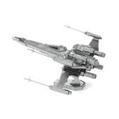 Metal Earth Star Wars Poe's X-Wing Fighter 3D Metal  Model + Tweezers 12699