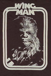 Star Wars T-Shirt Chewbacca as my Wing Man