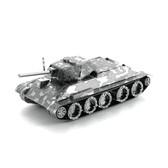 Metal Earth T-34 Tank 3D Metal  Model + Tweezers  12019
