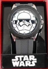 Star Wars EP7 Stormtrooper Head (white face) watch Accutime 02947