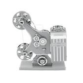 Metal Earth Movie Film Projector 3D Metal  Model + Tweezers  10886