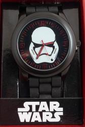 Star Wars EP7 Stormtrooper Head (red numbers) watch Accutime 00561
