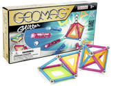 GeoMag Glitter 22 piece Panels Magnetic Construction 5308