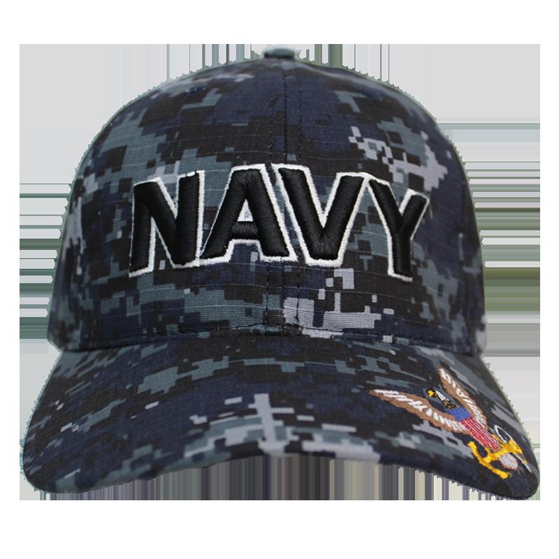 MADE IN USA Caps Digital Camo - Navy