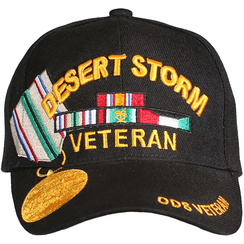 Caps - Medal - Operation Desert Storm Veteran