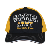 MADE IN USA Caps - Home of the Brave - Army