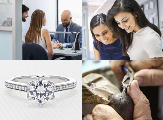 people being consulted about jewelry