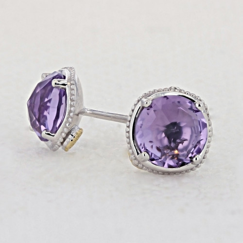 Tacori Lilac Blossoms Fashion Earrings (SE15401)