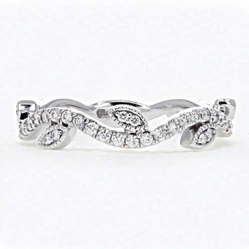 Micro Prong Vine Diamond Wedding Band (FG51)