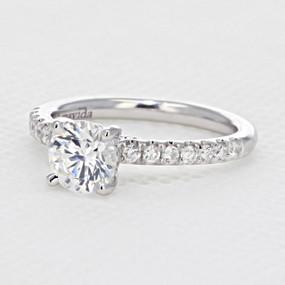 Micro Prong Engagement Ring (AV18)