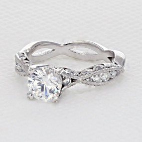 Tacori Classic Crescent Engagement Ring (2578RD65)