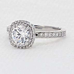 Tacori Blooming Beauties Engagement Ring  (HT2522CU65)