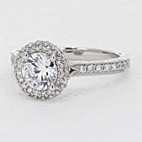 Tacori Blooming Beauties Engagement Ring (HT2522RD65)