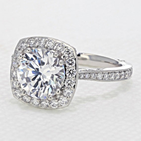 Tacori RoyalT Engagement Ring  (HT2652CU85)