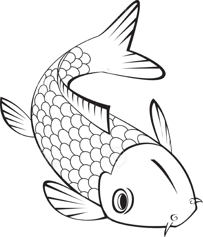 Ceramic Fish Statue