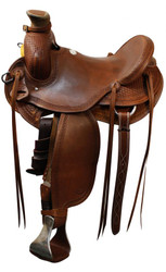 "15"", 16"", 17 Showman™ Roping Saddle"