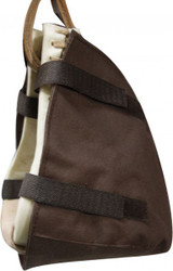 Showman™  Western Stirrup Covers. Nylon With Velcro Straps
