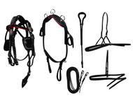 Mini Horse / Small Pony Size Leather Show Harness Set