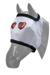 Showman® Lover Boy Mesh Fly Mask