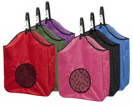 Showman ® nylon slow feed hay bag.