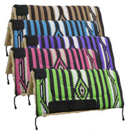 "32"" x 32"" Acrylic top saddle pad with fleece bottom."