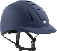 Equi Pro II helmet from International Riding Helmets. -Matte Navy