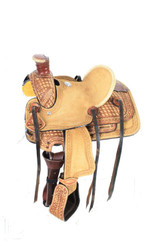 """10"""" Double T  Pony saddle"""