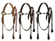 Pony size Poco headstall with reins.