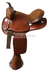 Double t Child Youth Western Saddle