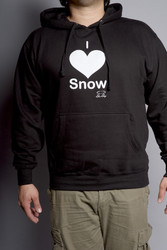 Snow Sugar I 'Heart' Snow Men's Hoodie