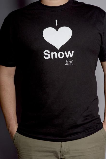 "Men""s Snow Sugar I 'Heart' Snow Tee"