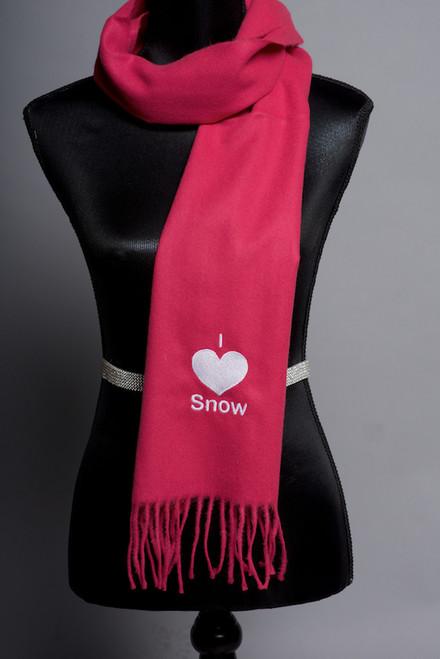 I 'Heart' Snow Scarf
