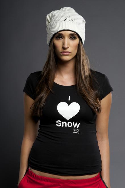 Snow Cap - white side