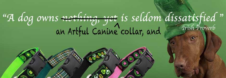 Irish Dog Collars, Celtic Dog Collars