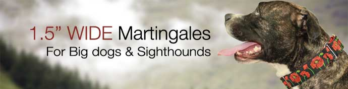 wide martingales for greyhounds and large breeds