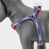 Marlin Fish Step-in Dog Harness, Choke-Free, Adjustable