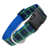 Plaid Dog Collar, Campbell Tartan