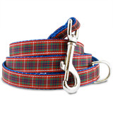 Plaid Dog Leash, Frazer Scottish Tartan