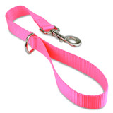 Short Traffic, City, Training Leash for Dogs, Hot Pink Nylon
