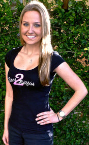 Black Bass2Billfish Women's Scoop Neck