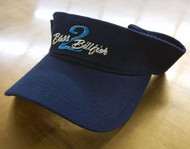 Bass2Billfish Navy Visor